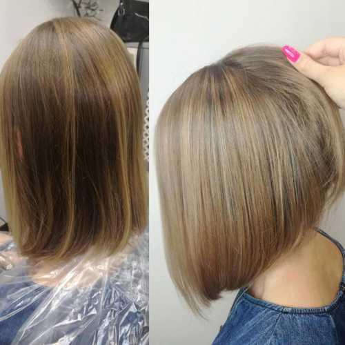 окрашивание седых волос профессиональными и народными средствами